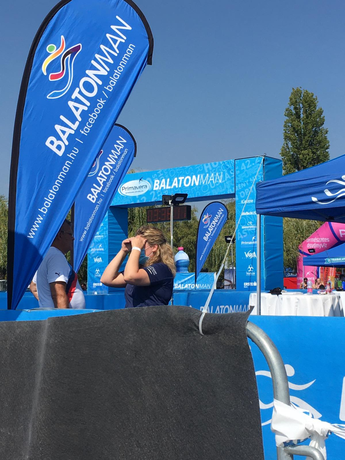 Primavera Balatonman Triatlon Fesztivál versenyközpont